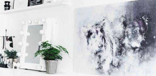 DIY: Photo to artwork - Förvanda foto till ett snyggt konstverk på väggen