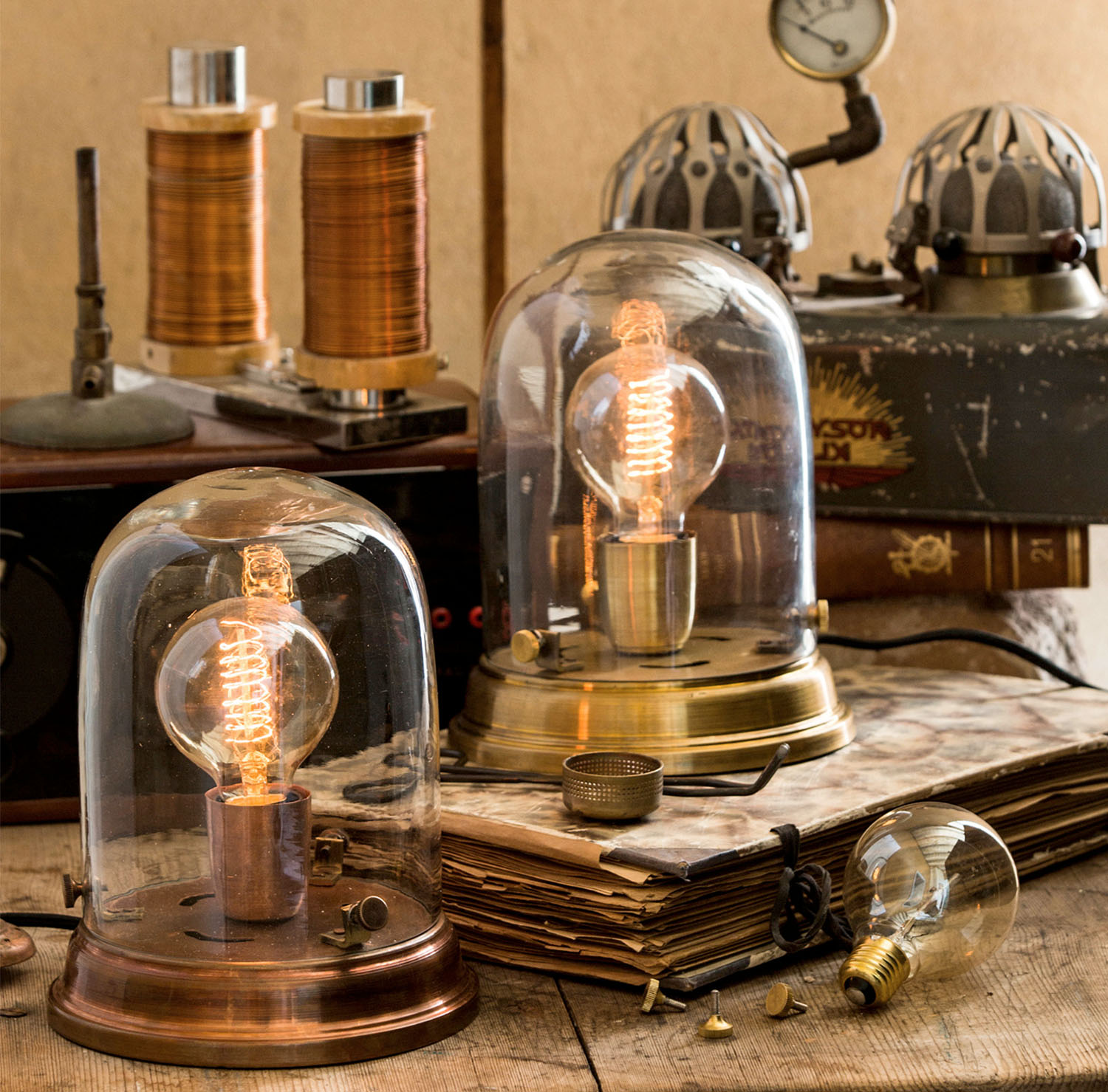 Tuffa ljuskällor (Bordslampa Edison) - Cool table lamp