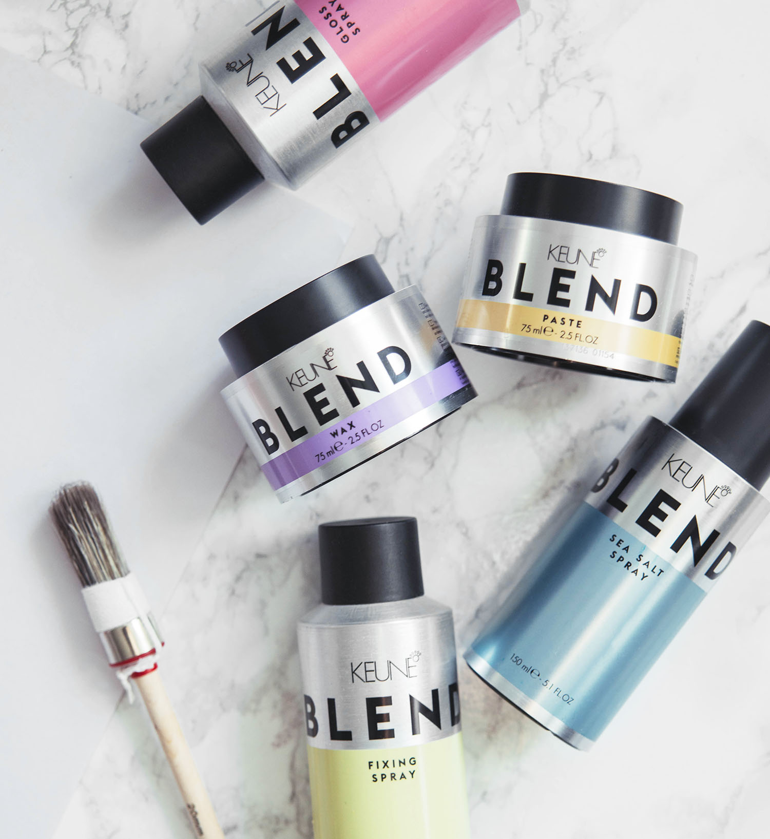 Keune Blend Hair Styling Products