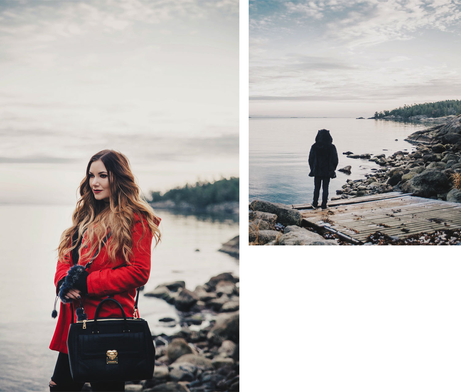 Little Red Riding Hood & Black Wolf Fashion Story