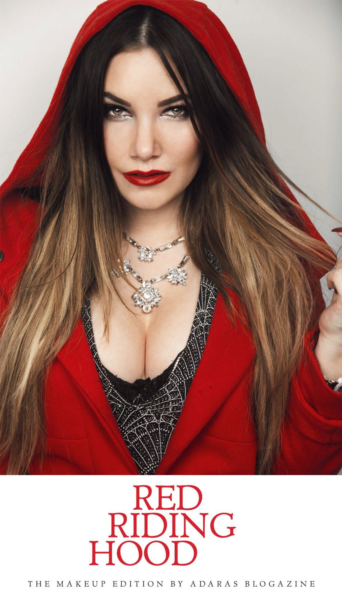 Little Red Riding Hood Makeup & Glamour Outfiit - Sminka dig som Rödluvan