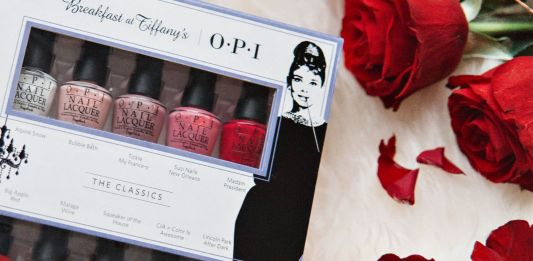 OPI Breakfast at Tiffanys Holiday 2016 Mini 10 polishes