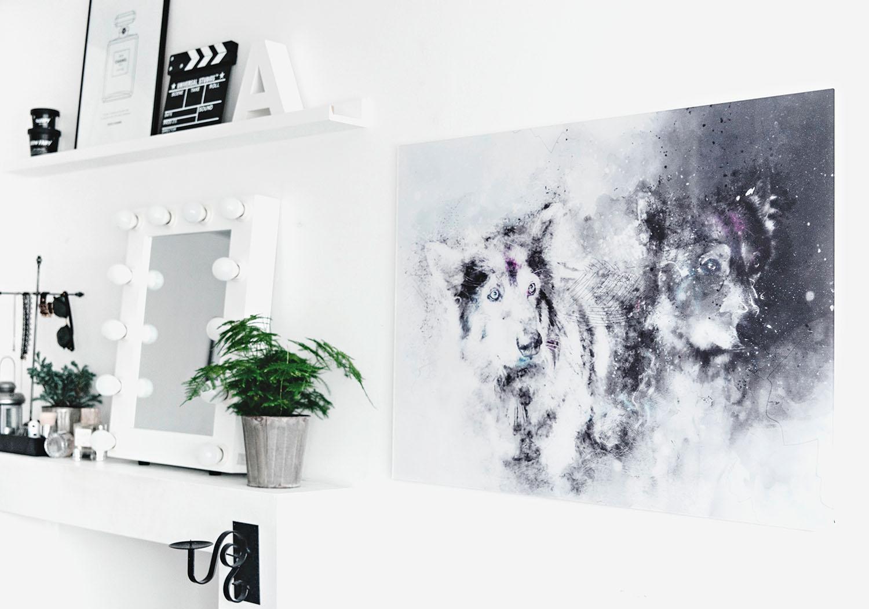 DIY: Photo to artwork / Foto till konstverk