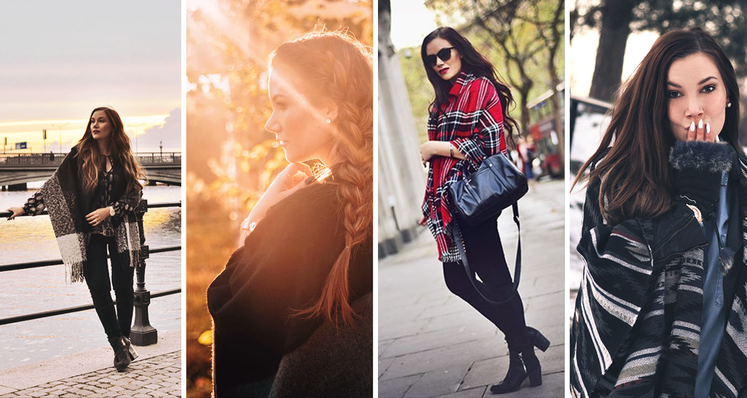 4 ways to wear a poncho - Smart Travel Hack