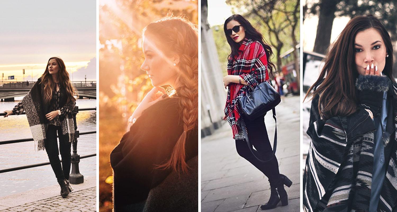 4 ways to wear a poncho - Smart Travel Hack