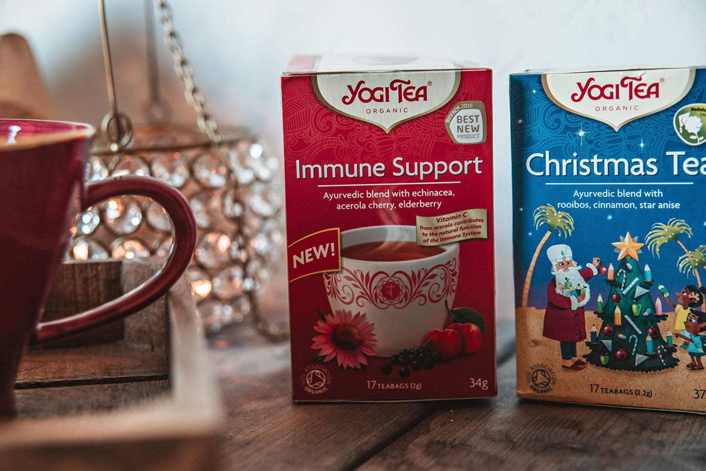 Yogi Tea Immune Support & Christmas Tea