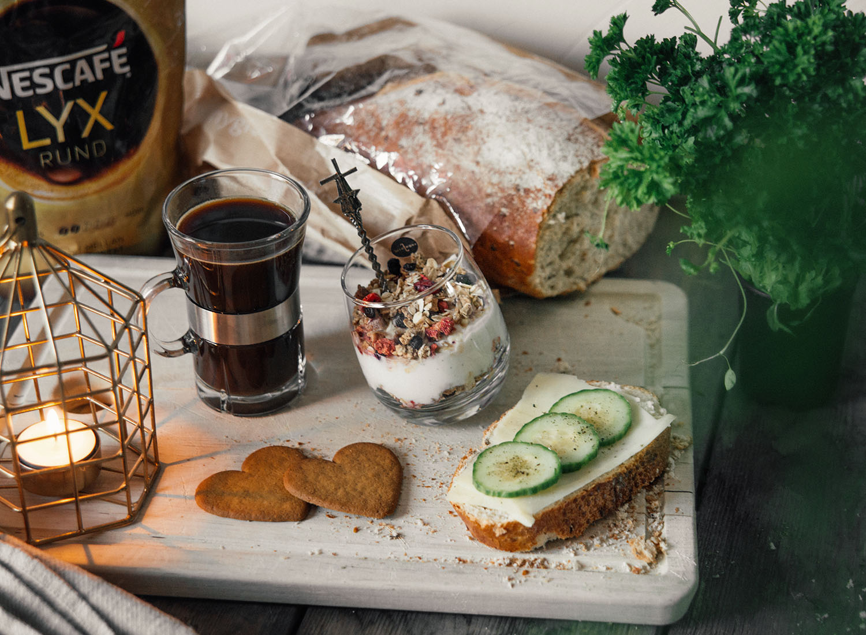 Adventsfika med Nescafé Lyx Rund