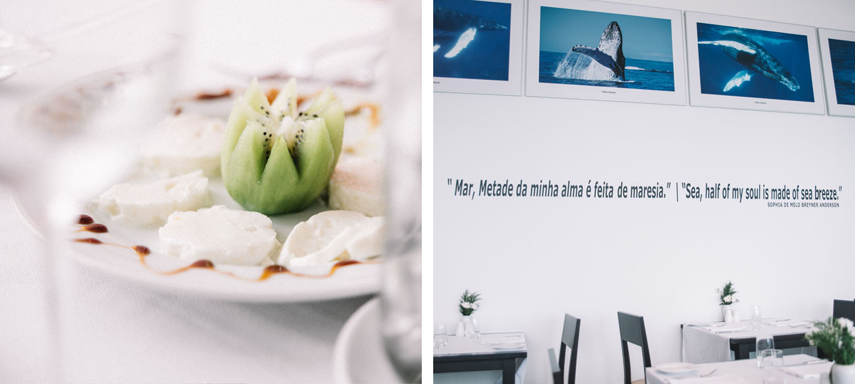 Seaview Restaurant at the Aqua Natura Madeira Hotel