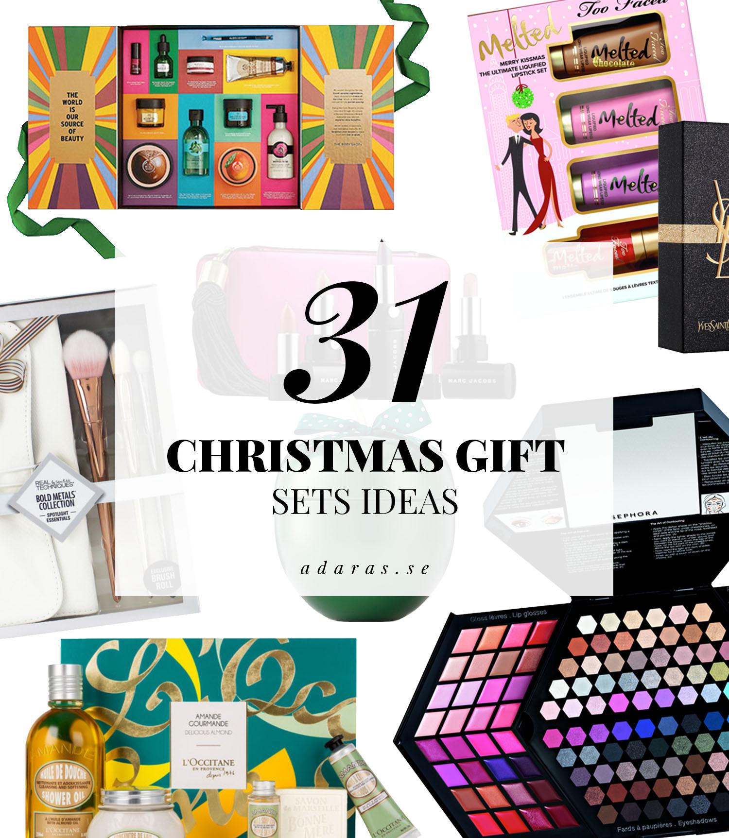 Färdiga presentkit - Christmas Gift Sets Ideas