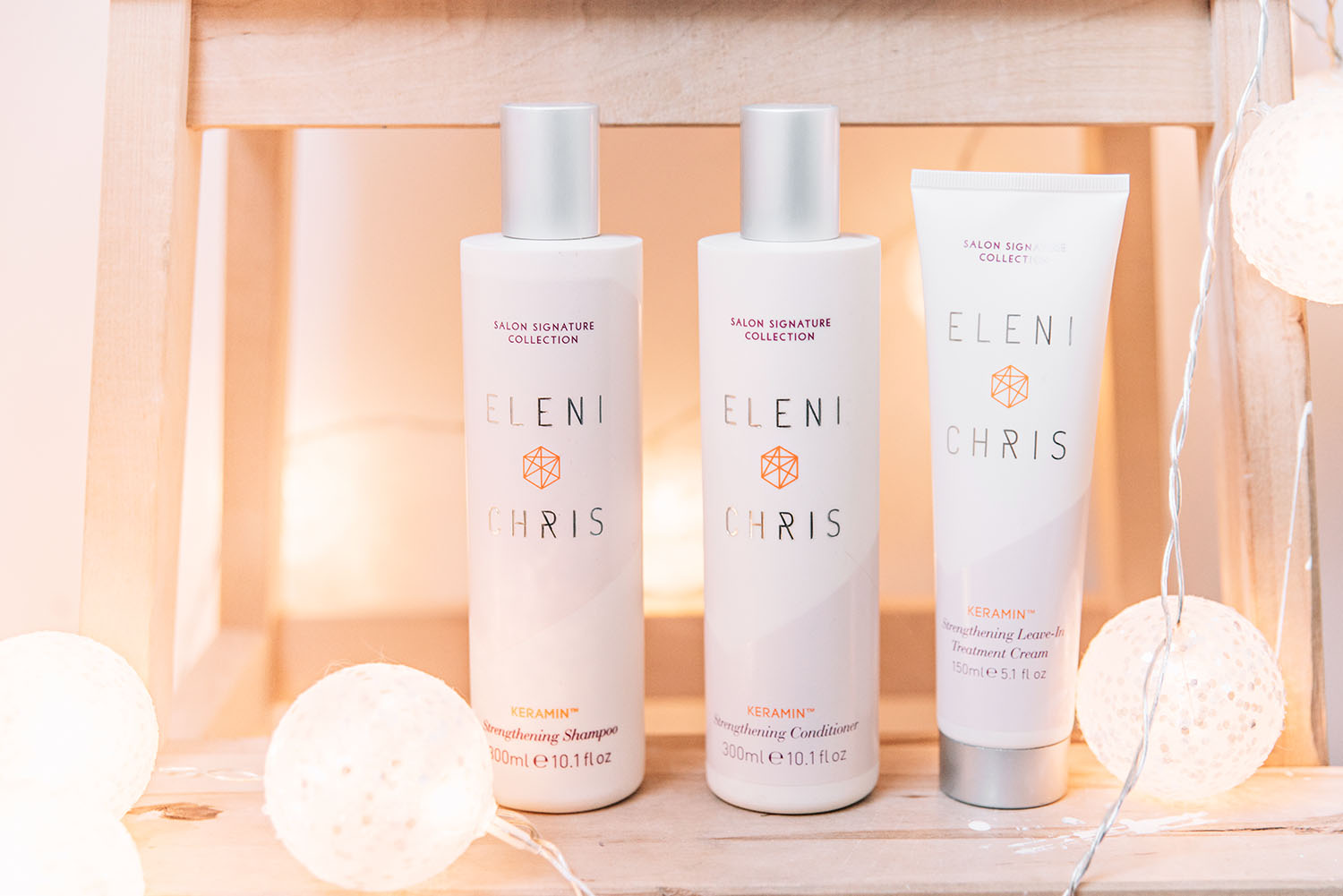 Eleni Chris Strengthening Leave-In Treatment Cream