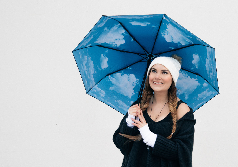 HappySweeds Sky Lake Umbrella