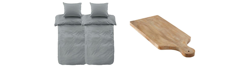 Sängkläder & skärbräda från Jotex