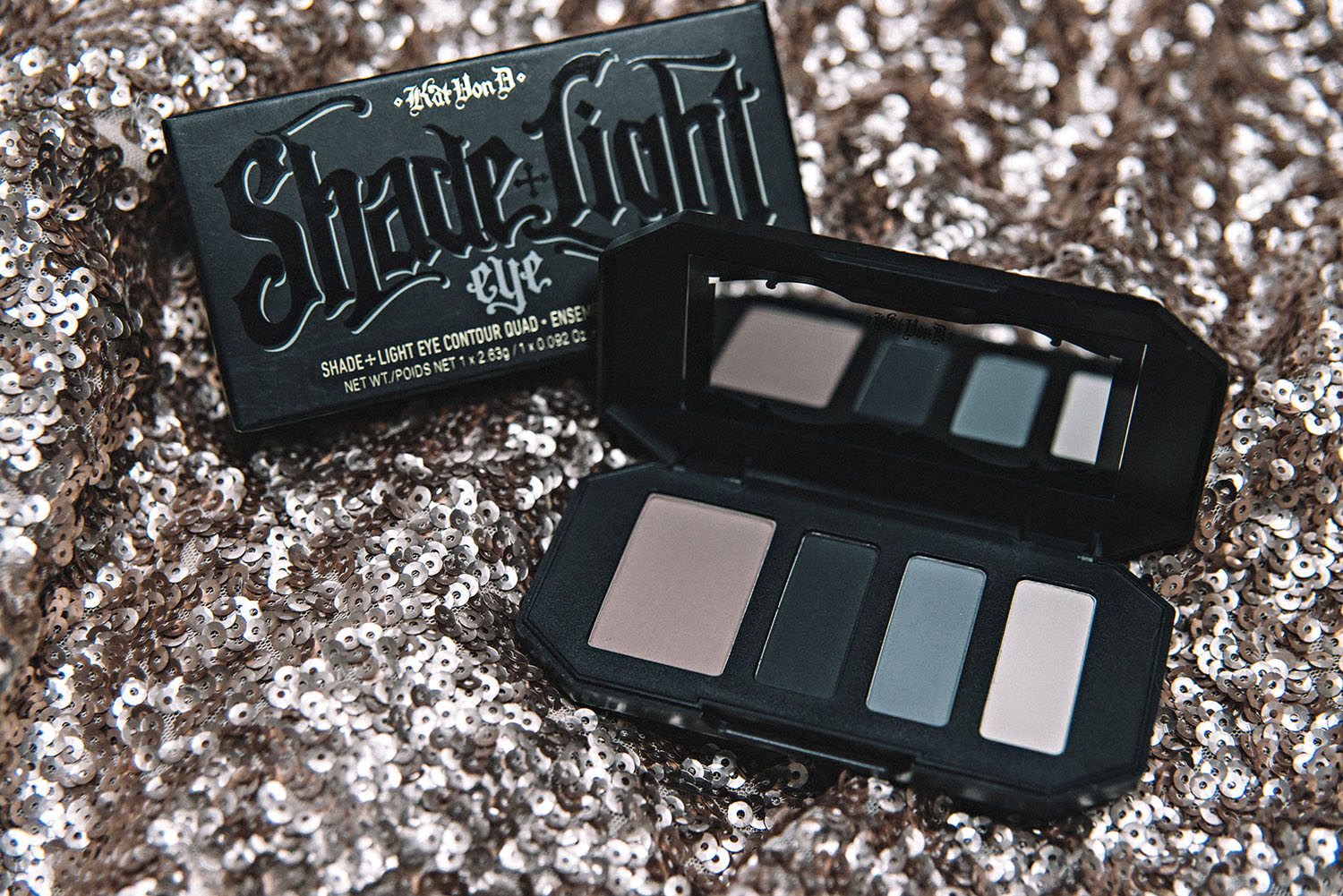 Kat Von D - SHade + Light Contour Quad - Smoke