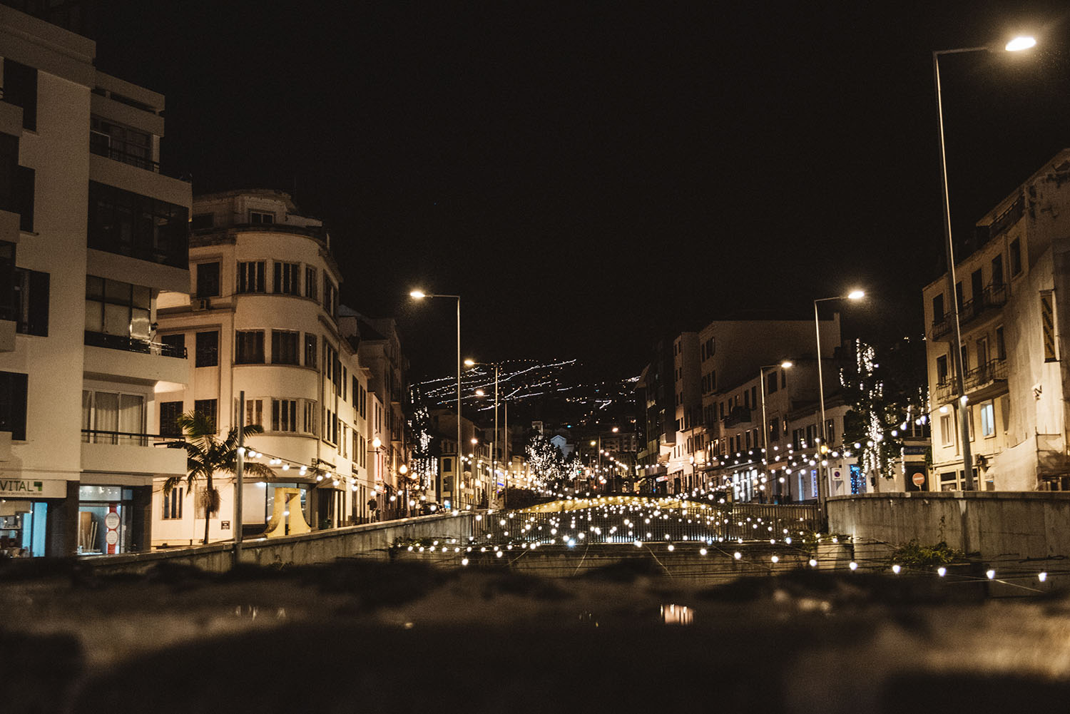 Madeira by night