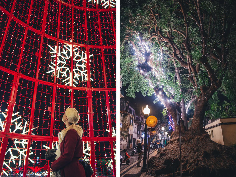 Christmas wonderland in Madeira