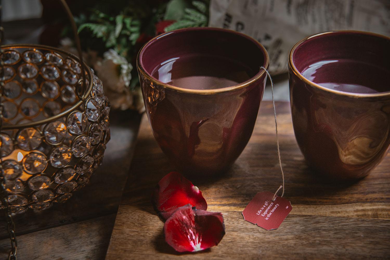 Plain Gold Coffe-Muggar från Indiska