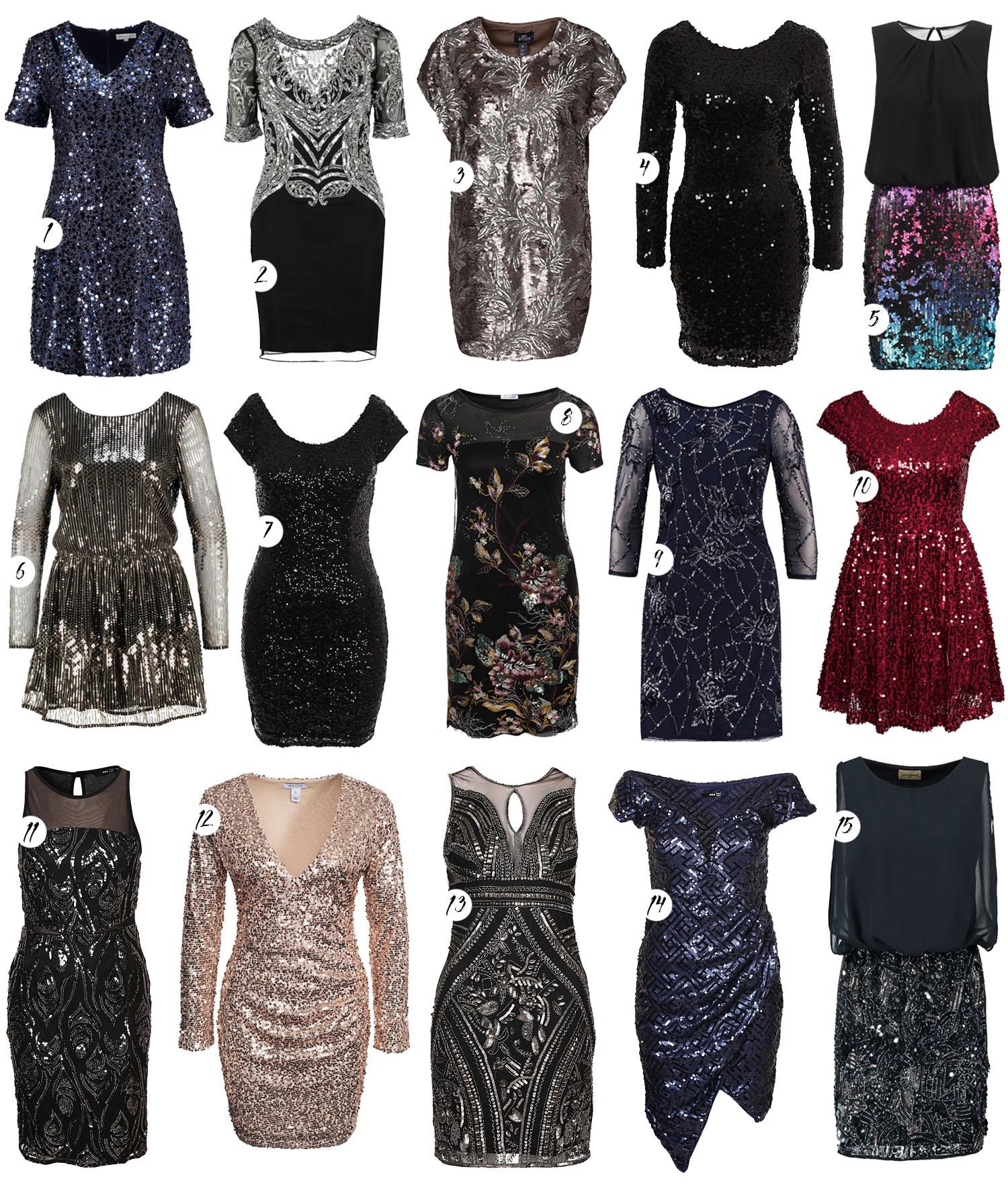 Paljettklänningar - Sequin Dresses