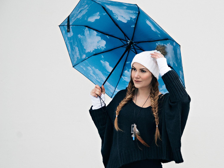 HappySweeds Sky Lake Umbrella & Hangmatta Boho Gloves