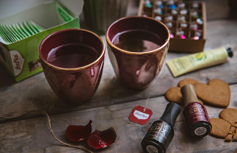 Yogi Tea Moment & Orly Manicure
