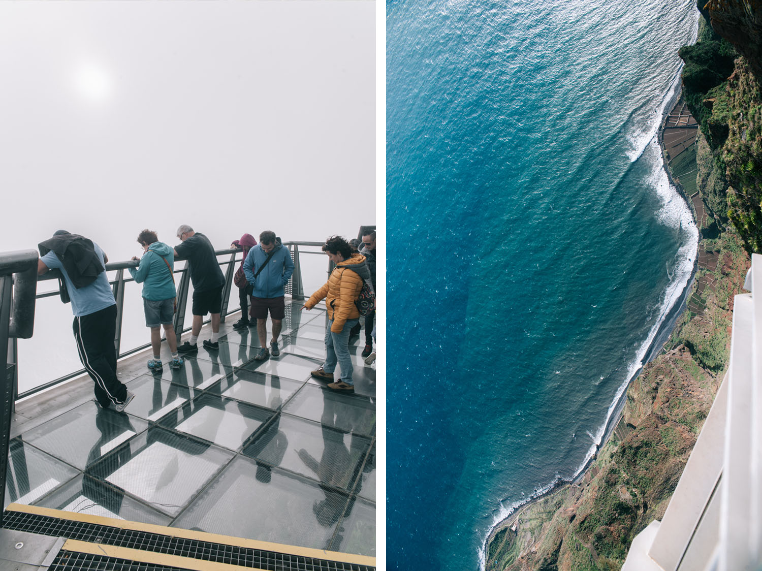 Standing on top of Cabo Girão