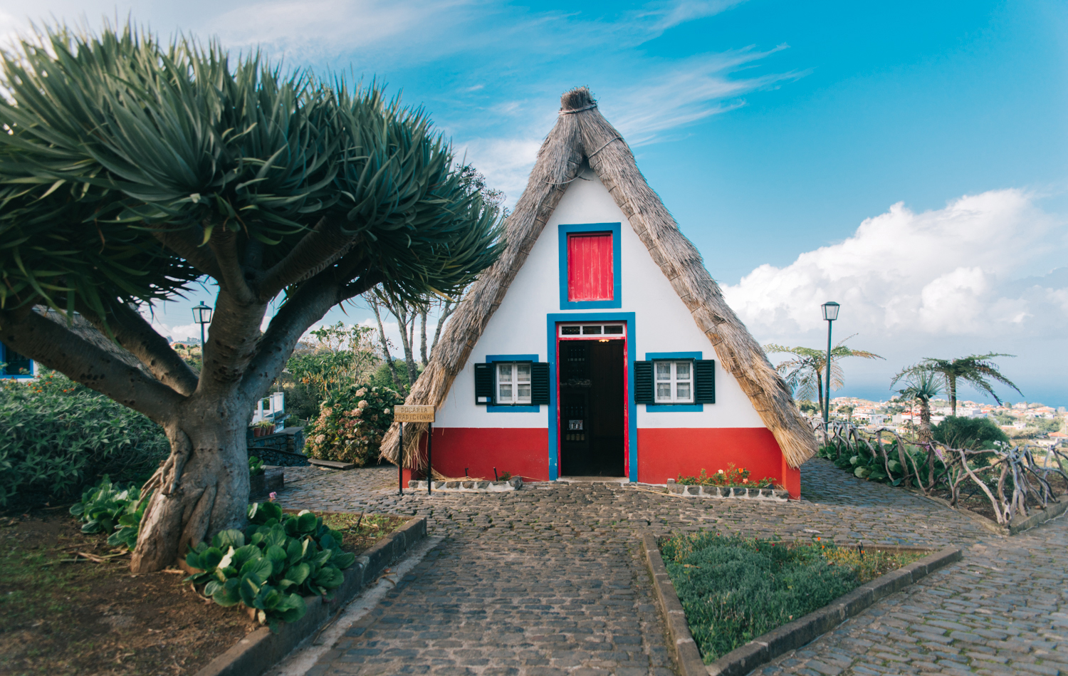 Santana Traditional House in Madeira