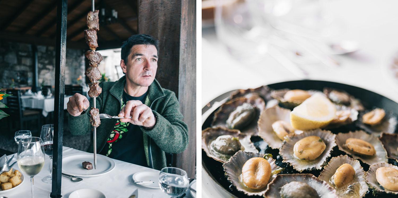 Madeira's Food: Espetada and lapas