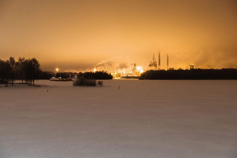 Skyline in Oulu