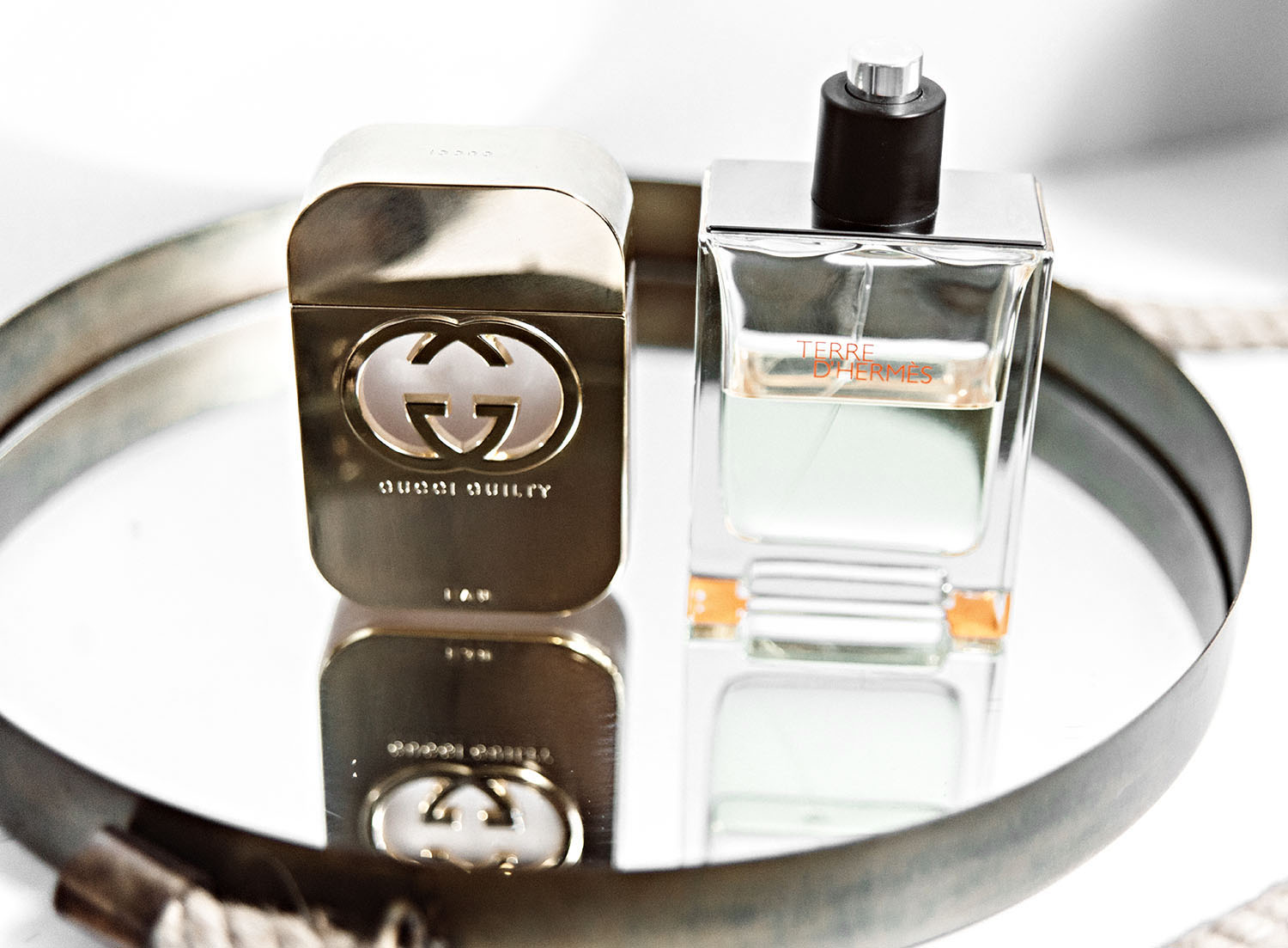 Gucci Guilty for him & Hermes Terre d'Hermes