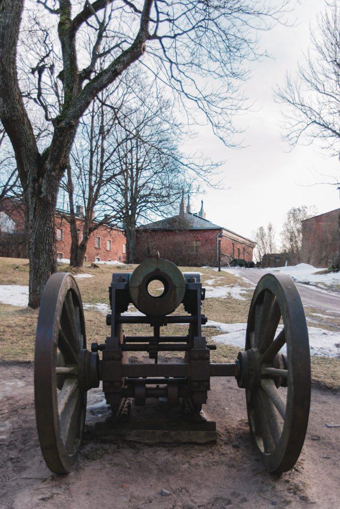 Cannon at Suomenlinna