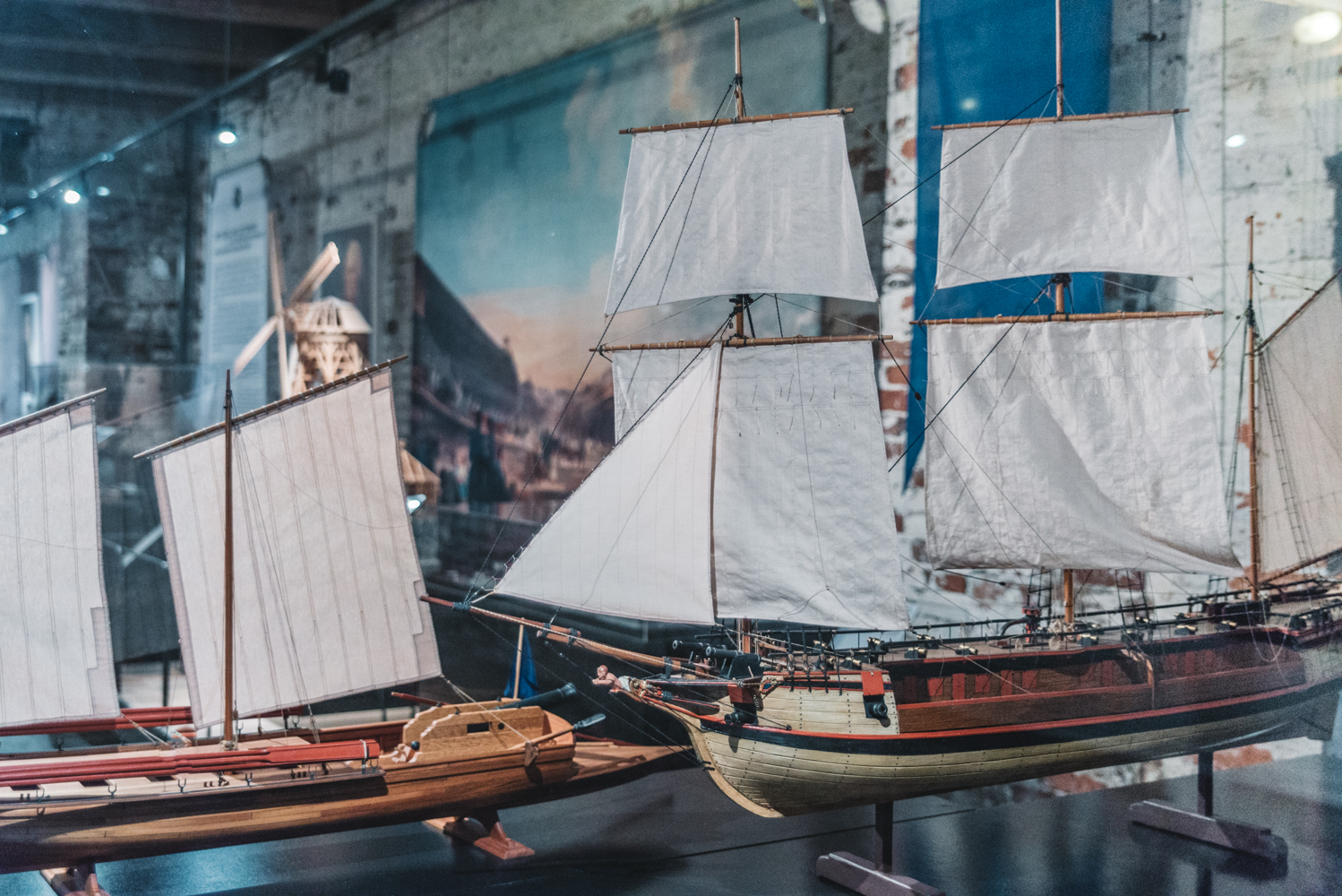 Miniature Ships at Suomenlinna