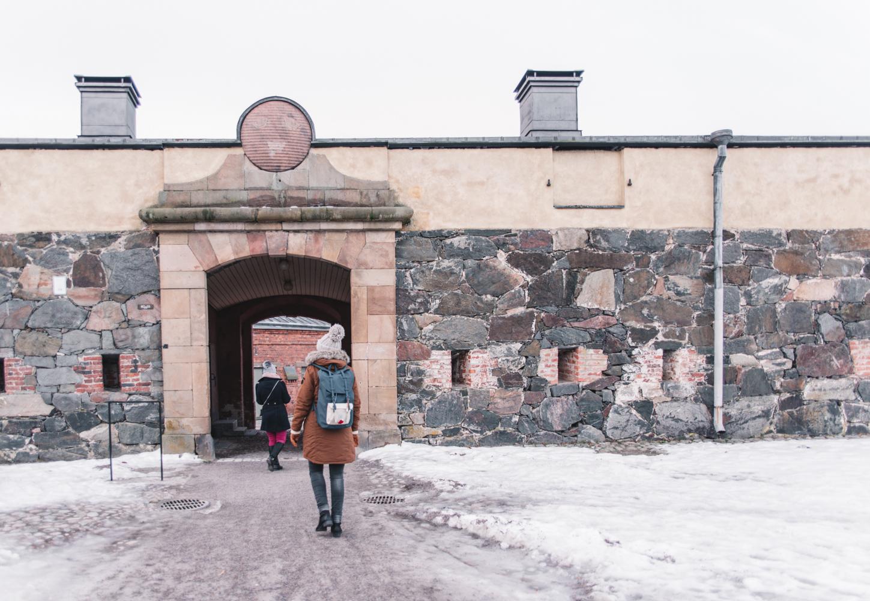 Suomenlinna - Sveaborg Fästning (Tre Kronor)