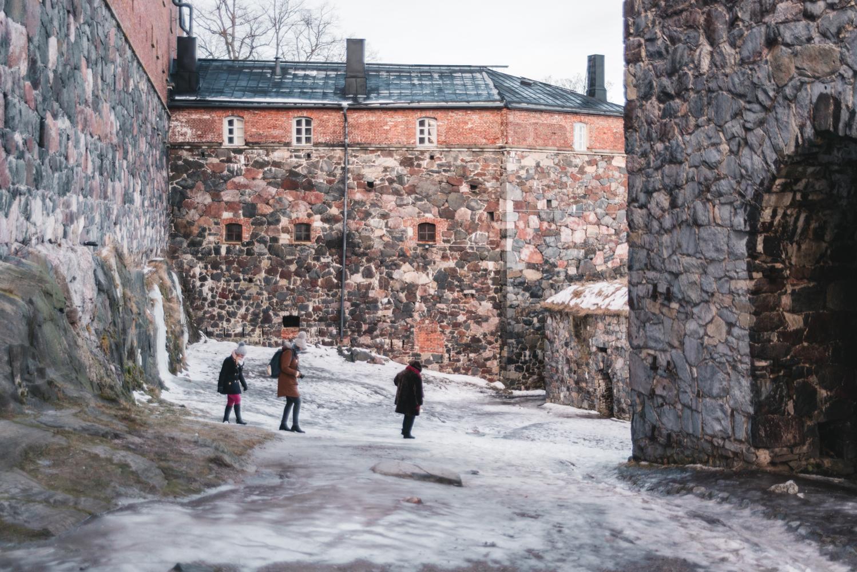 StopOver in Finland - Suomenlinna Sea Fortress