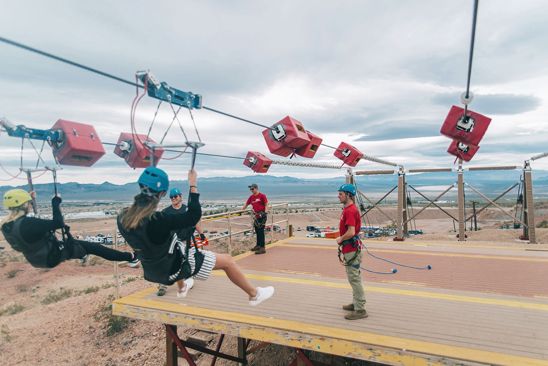 Las Vegas Zipline-Bootleg Canyon Flightlinez Adventure