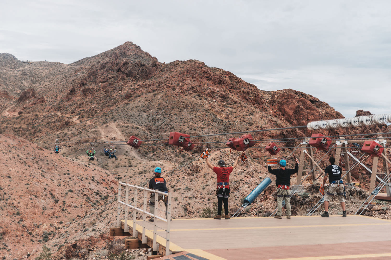 Las Vegas Zipline-Bootleg Canyon Flightlinez Adventure