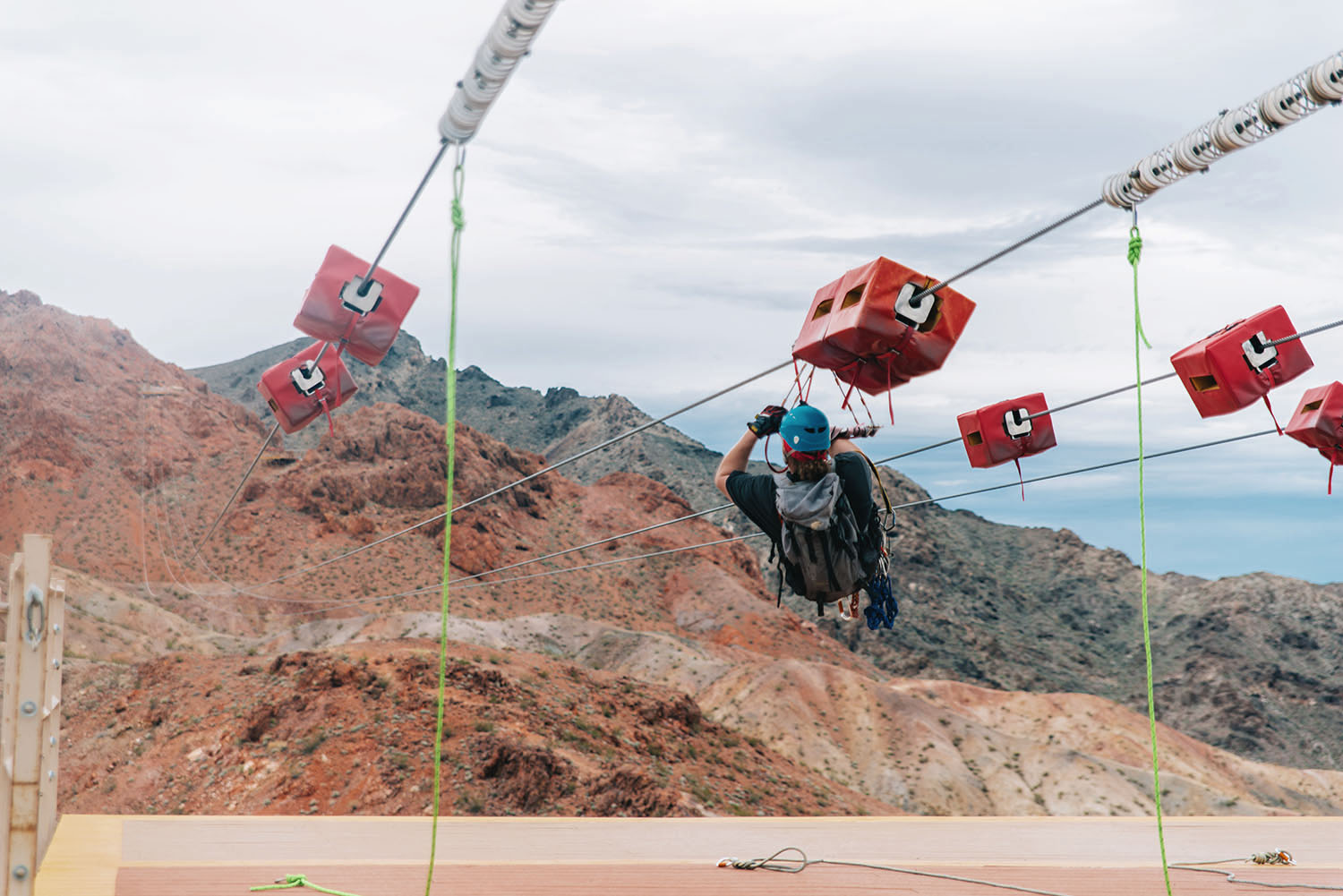Tour Guide from Flightlinez - Zipline outside Las Vegas