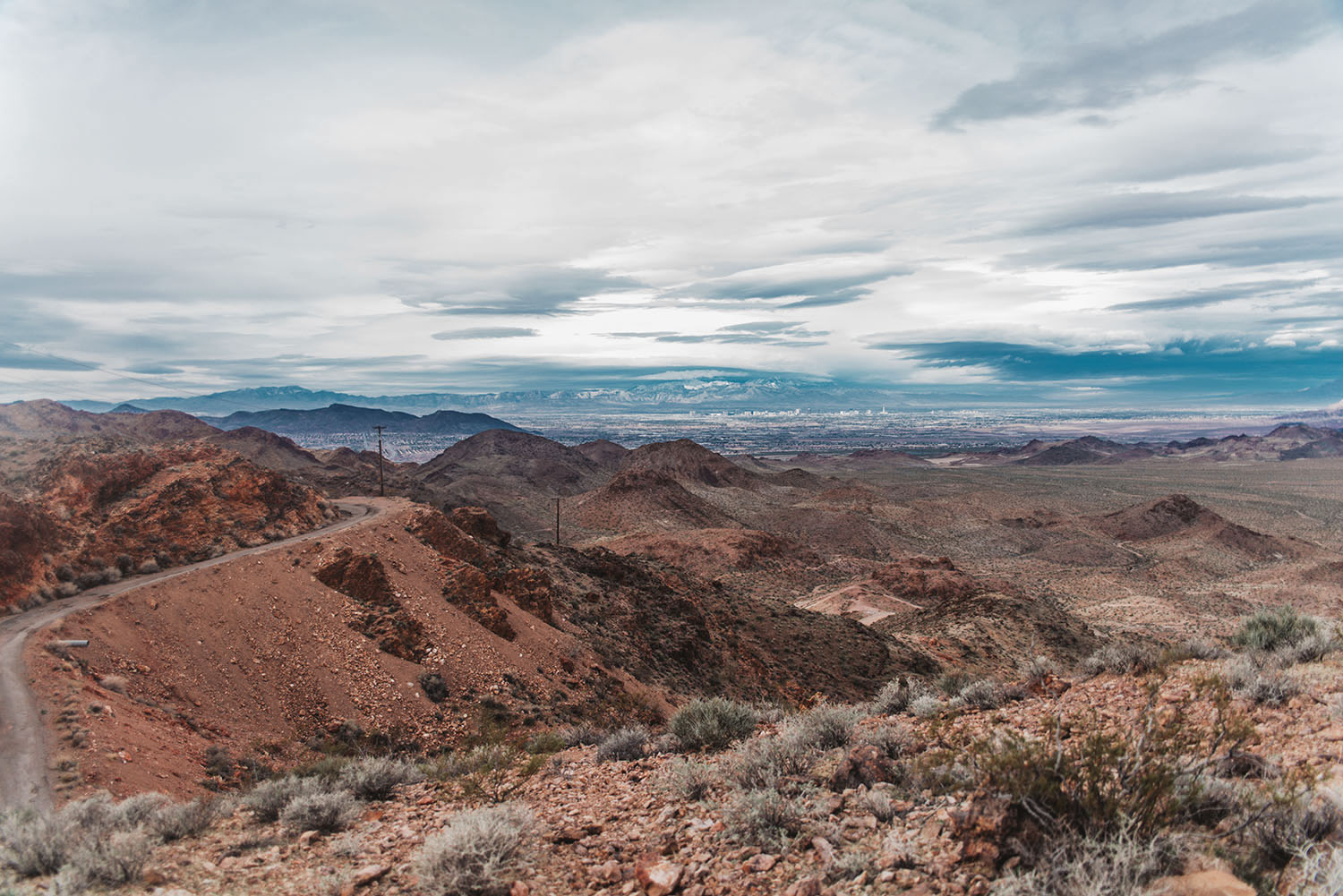 Beautiful Bootleg Canyon, Boulder City, Nevada