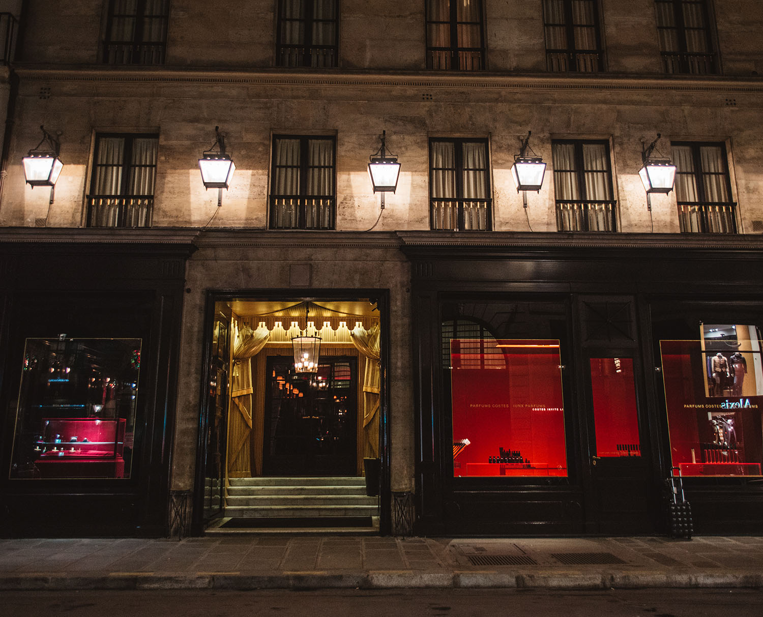 Hotel Costes Paris Exterior
