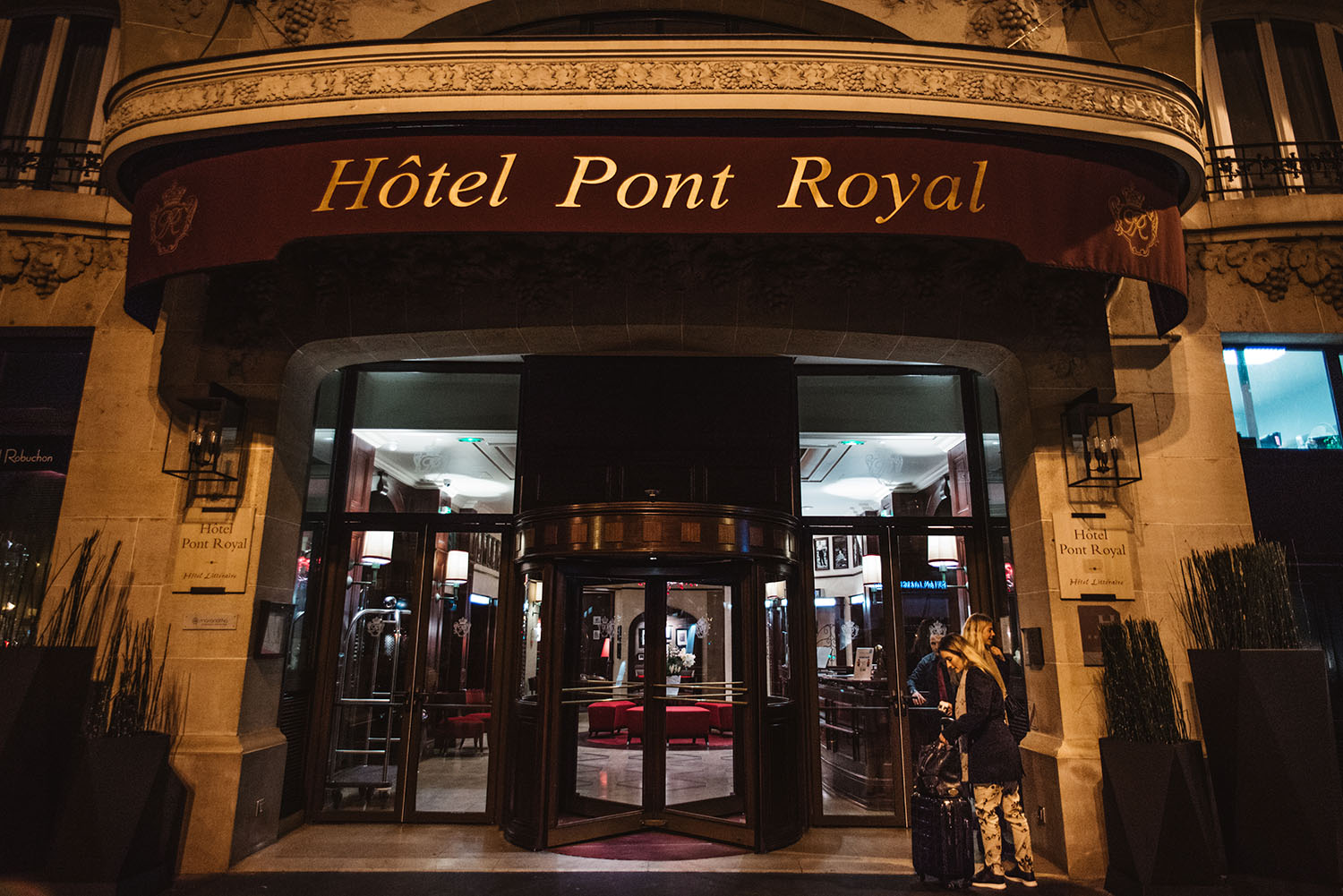 Hotel Pont Royal - 5 star hotel in Paris