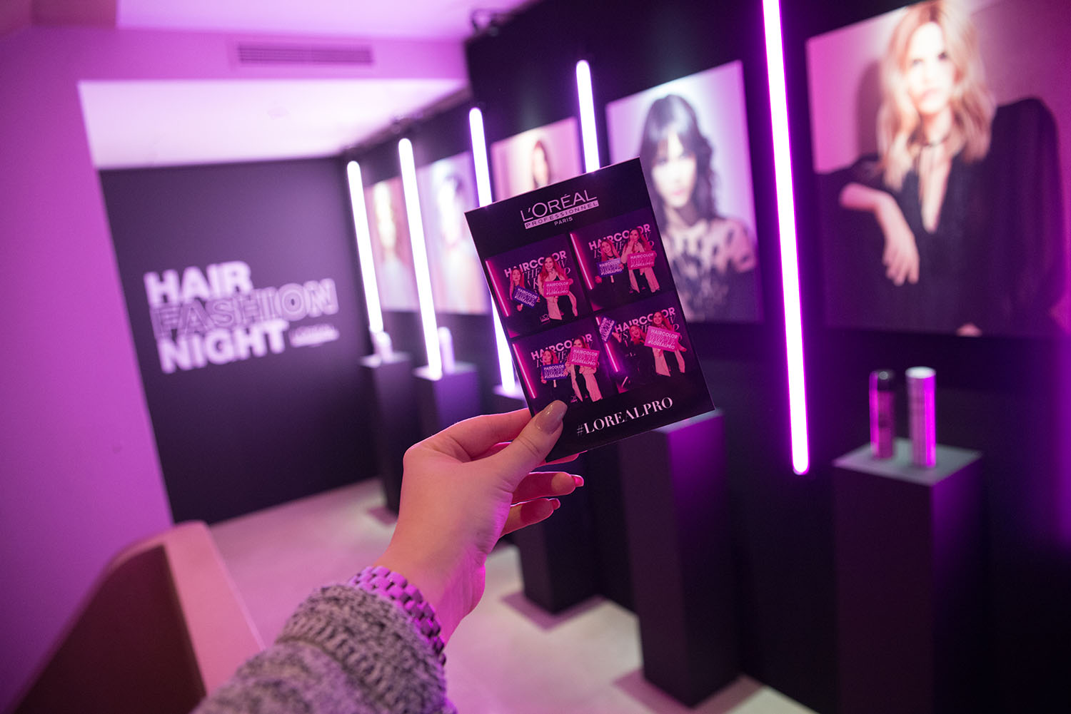 L'Oréal Professionnel's event in Paris