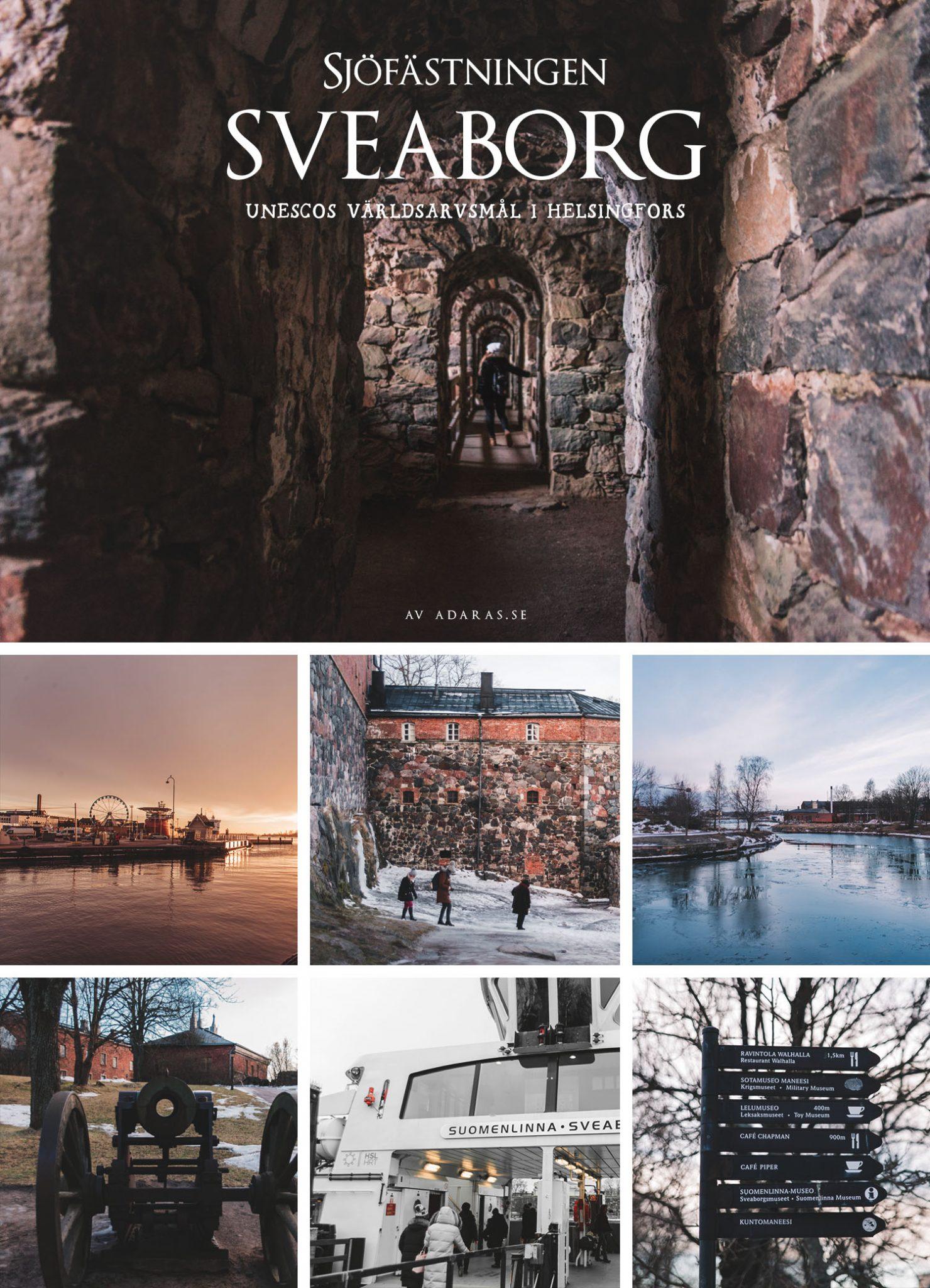 Sjöfästningen Sveaborg - UNESCOs världsarv utanför Helsingfors