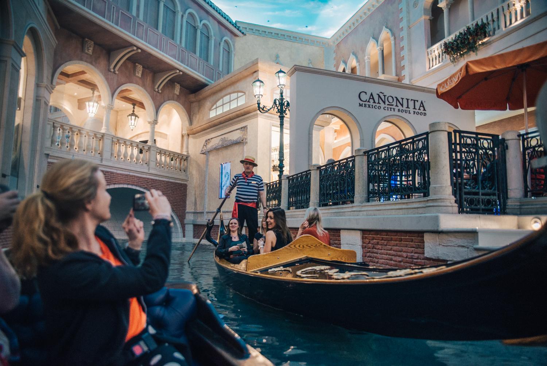 Gondola Ride at the Venetian - Grand Canal Shoppes