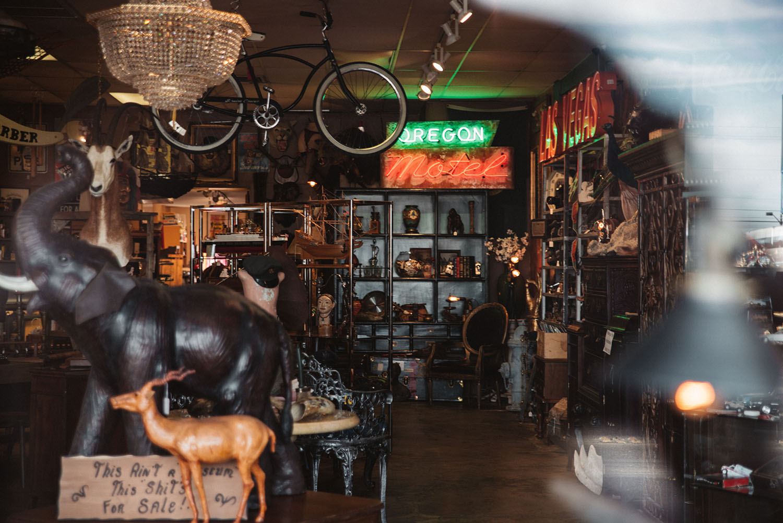 Antique Store in Las Vegas Arts District
