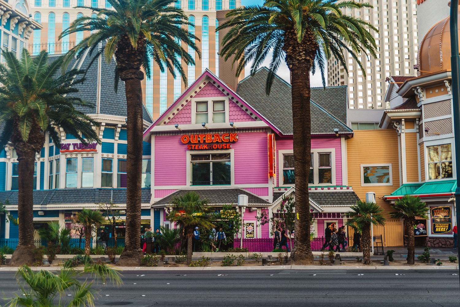 Colorful Houses in Las Vegas