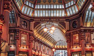 Leadenhall Market in London