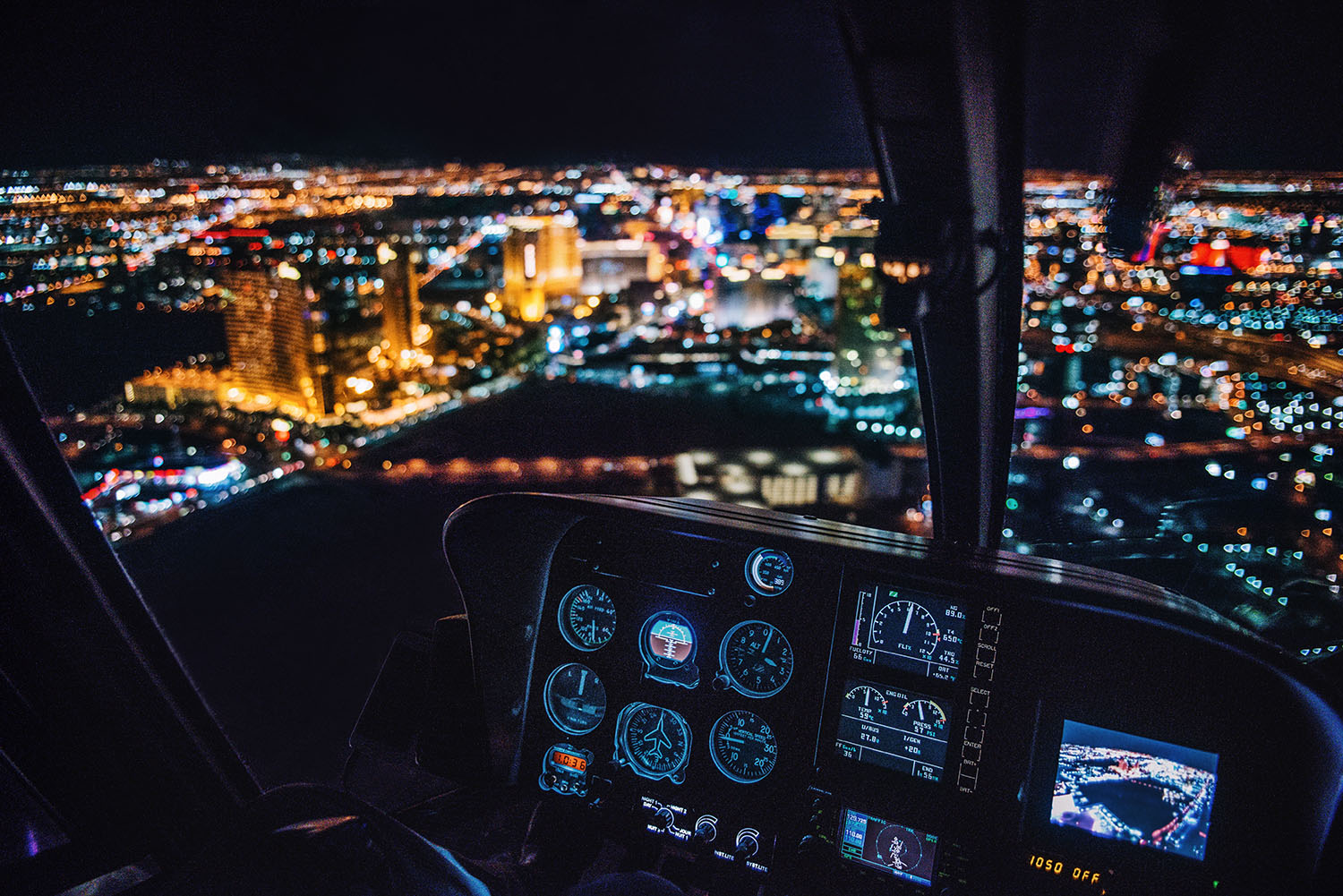 Helicopter Tour over The Strip in Las Vegas with Maverick Helicopters