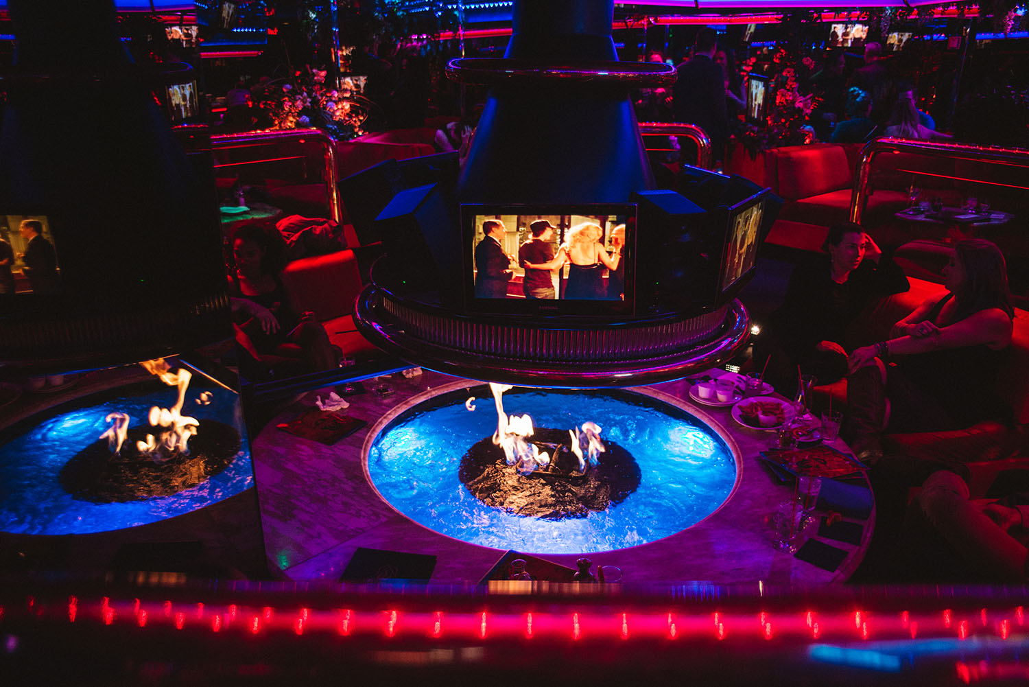 Fireside at The Peppermill in Las Vegas