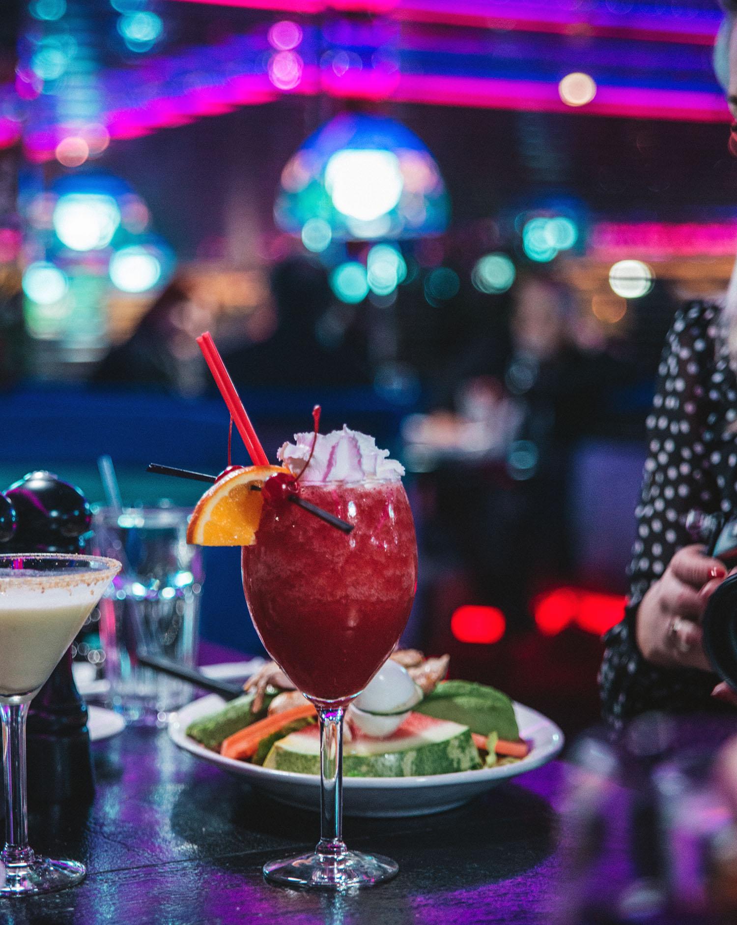 Beautiful American Drink at Peppermill in Las Vegas