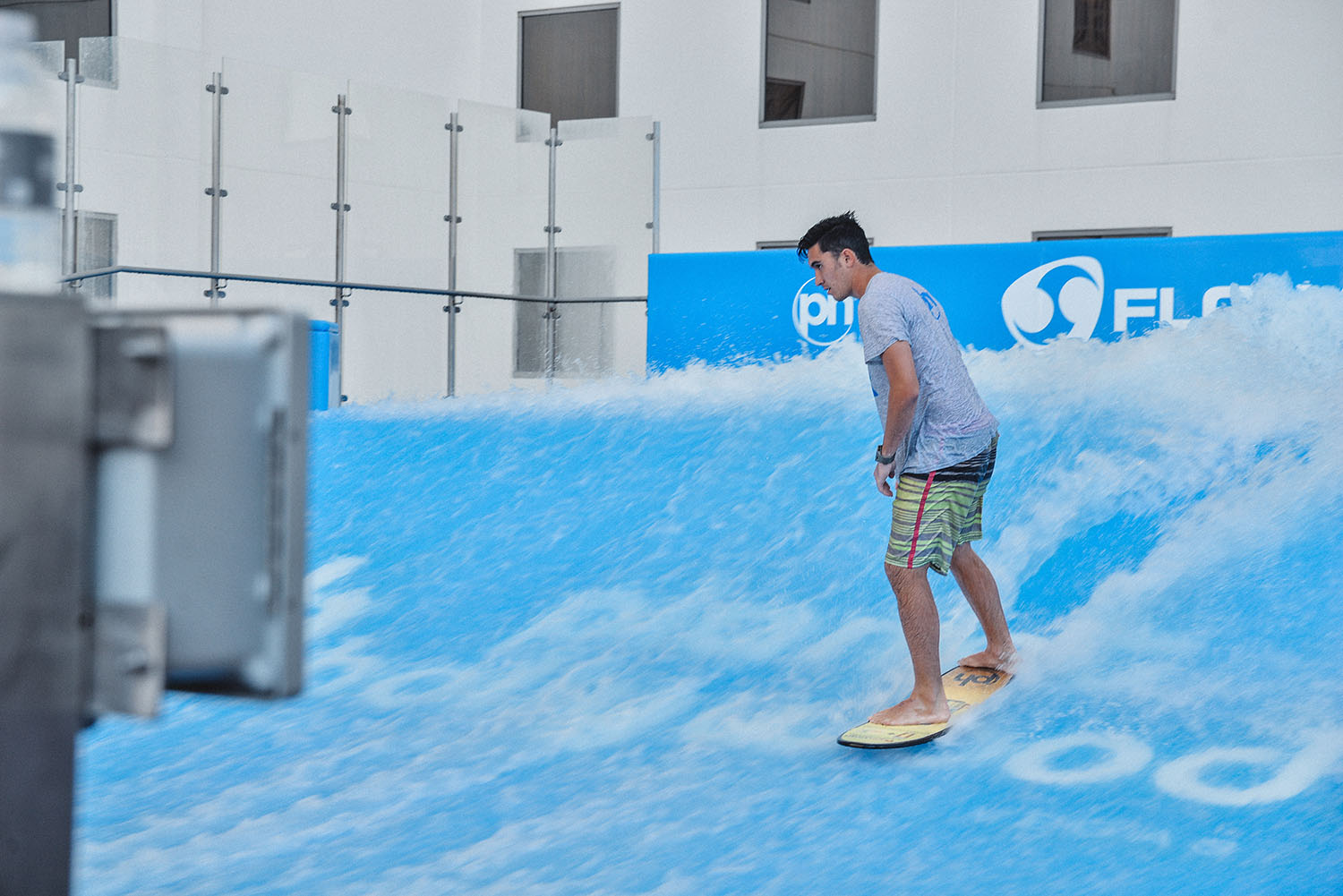 Flowrider at Planet Hollywood
