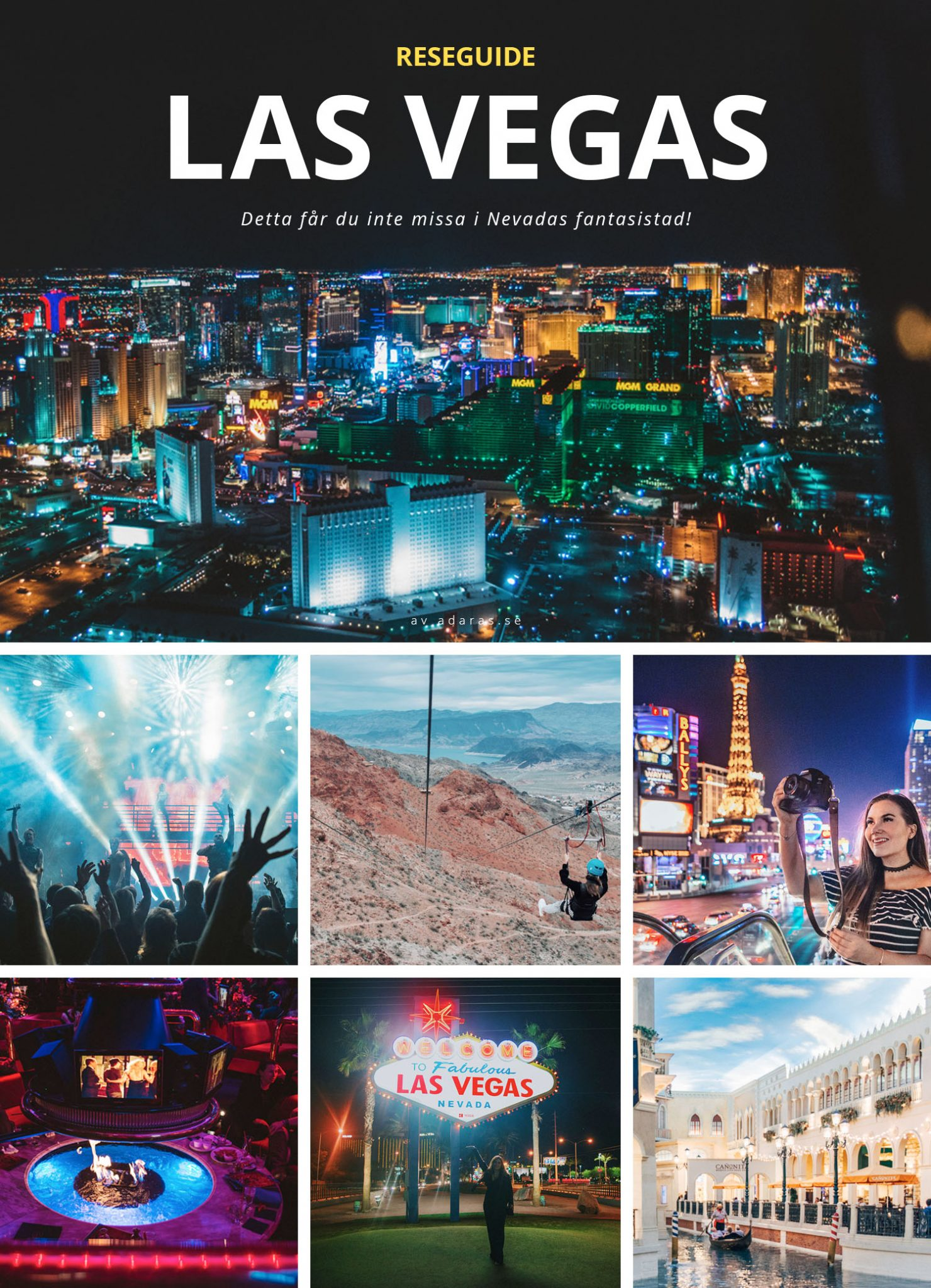 Reseguide: 30 Saker att göra i Las Vegas