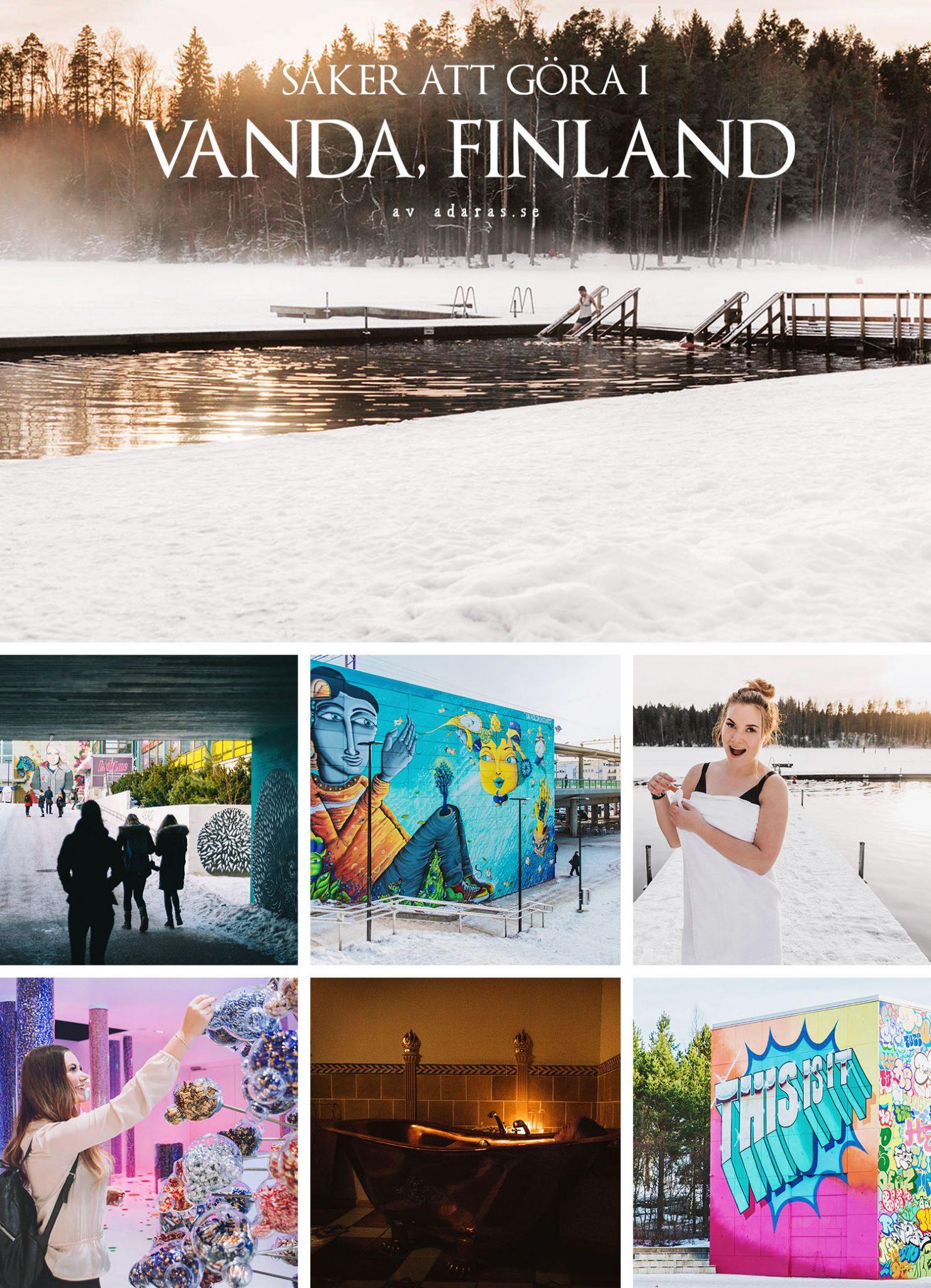 Kollage med saker att göra i Vanda, Finland
